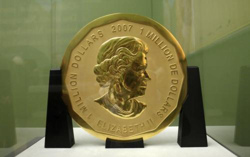 Largest 100 Kilogram Gold Coin