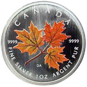 Canadian Maple Leaf Silver Coins