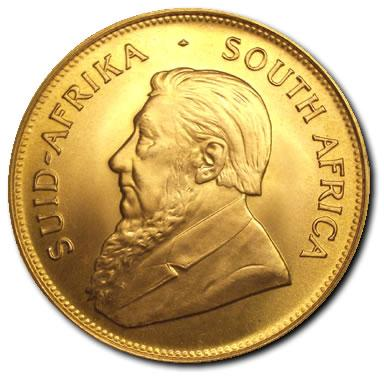 South African Gold Krugerrands